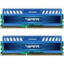 Memória Viper 3 16GB (2x8GB) 1600MHz DDR3 PV316G160C9KBL - Patriot