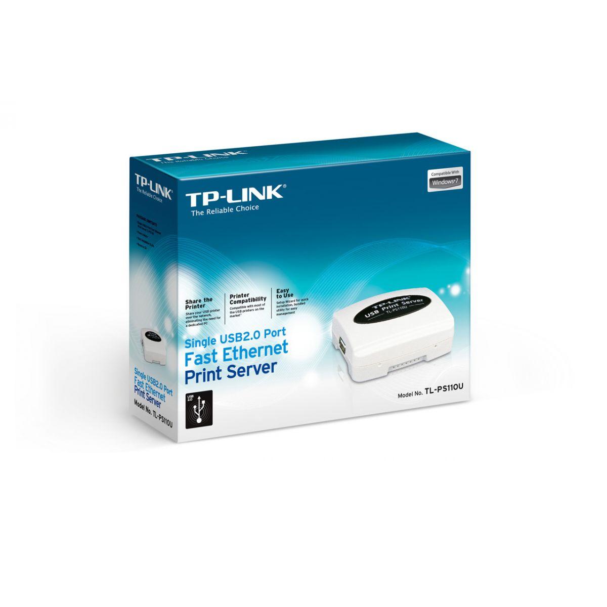 Servidor de Impressão USB TL-PS110U - Tplink