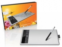 Mesa Digitalizadora BAMBOO Create Medium Pen & Touch CTH670L - Wacom
