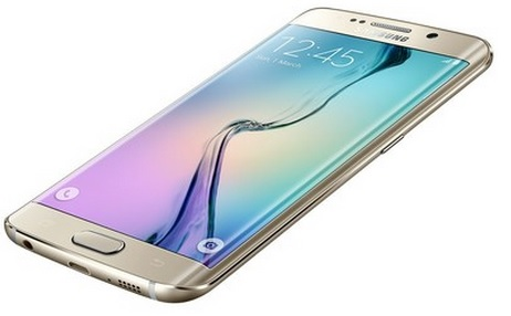 Smartphone Galaxy S6 Edge G925I, Proc Octa Core 1.8Ghz, Android 5.0, Tela Super Amoled 5.1, 64GB, Câmera 16MP, 4G Dourado - Samsung