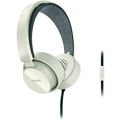 Fone de Ouvido Supra Auricular Branco SHL5205WT  - Philips