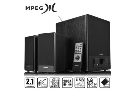 Caixa de Som 2.1 64W RMS FC530U Bivolt Automatico - Microlab