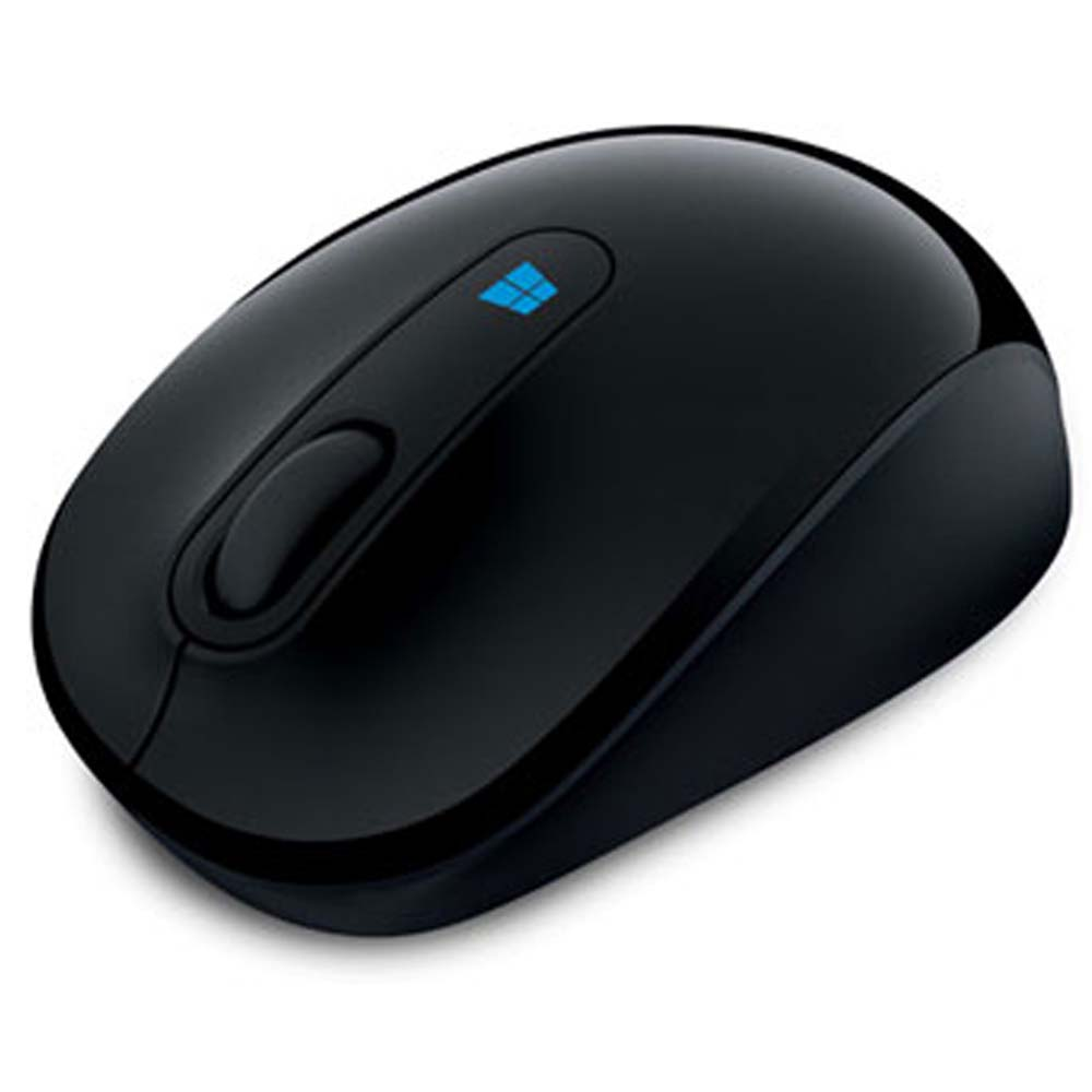 Mouse Sculpt Mobile Wireless Preto 43U-00008 - Microsoft