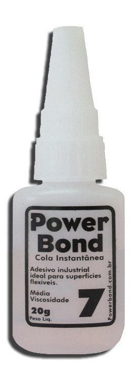 Cola Instantânea Power Bond 20G - Fixar