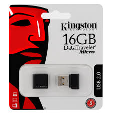 Pen Drive USB 16GB DTMCK/16GB Preto - Kingston