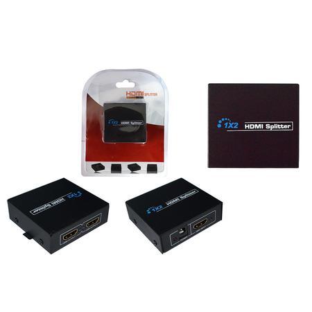 Splitter HDMI 1 Entrada X 2 Saídas V1.4 3D HUB0025 - OEM