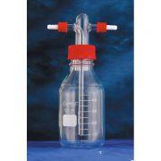 Frasco Lavador de Gás Cabeça Tipo Drechsel com Frasco Graduado Sem Placa porosa