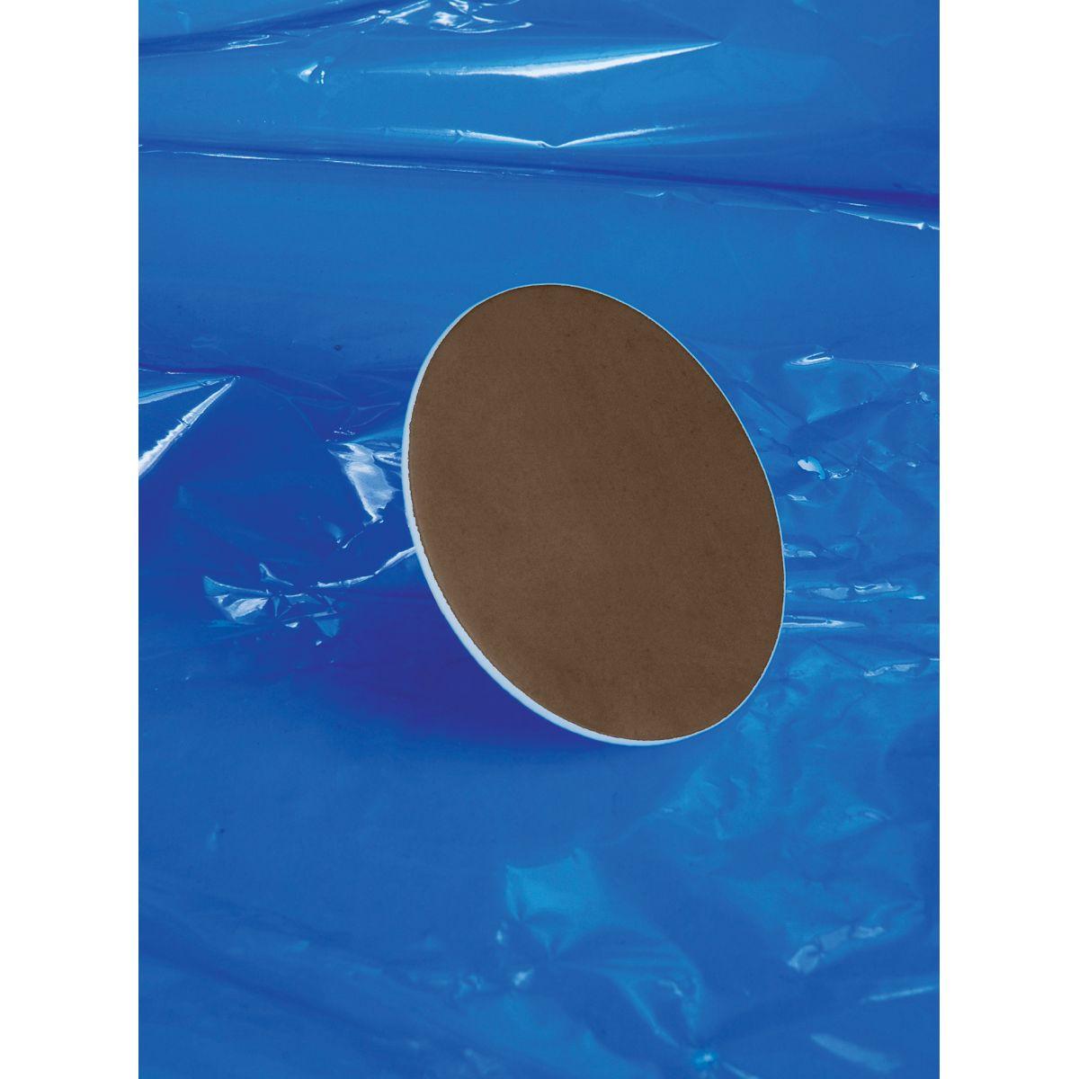Septo de Silicone revestido em PTFE para tampa com rosca GL  - loja.laborglas.com.br