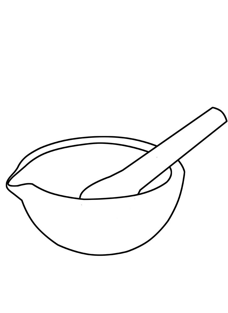 Gral com pestilo em porcelana  - loja.laborglas.com.br