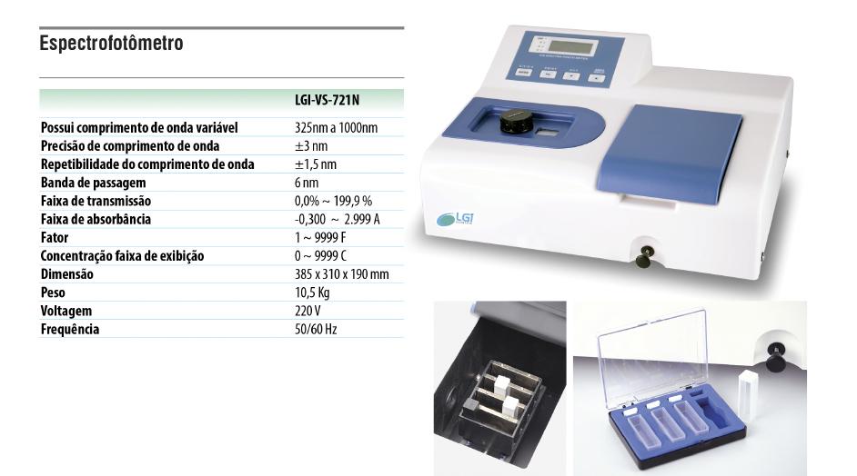 Espectrofotômetro  - loja.laborglas.com.br