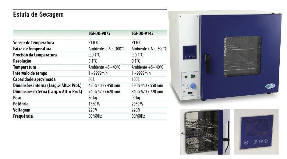 Estufa de secagem  - loja.laborglas.com.br