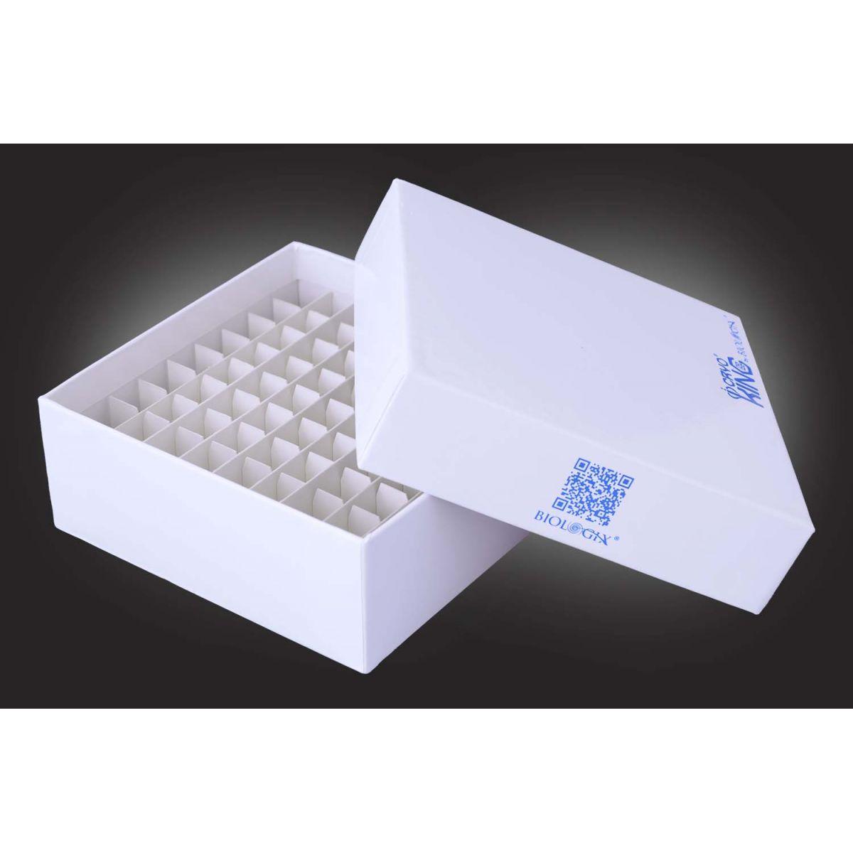 Caixa de fibra de papelão para Tubos  - loja.laborglas.com.br