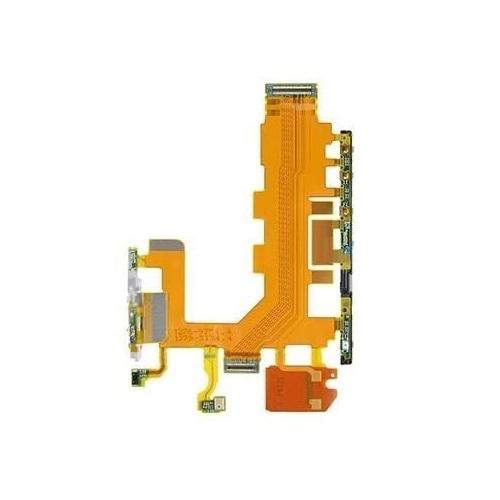 Botao Volume Power e Microfone com Flex Sony Xperia Z2 D6502 D6503