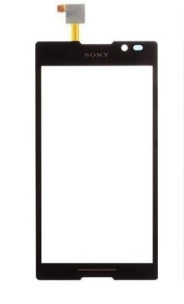 Tela Touch Sony Xperia C C2304 C2305 Preto AAA