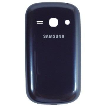 Tampa Bateria Traseira  Samsung Galaxy Fame Gt - S6810 S6812 Azul