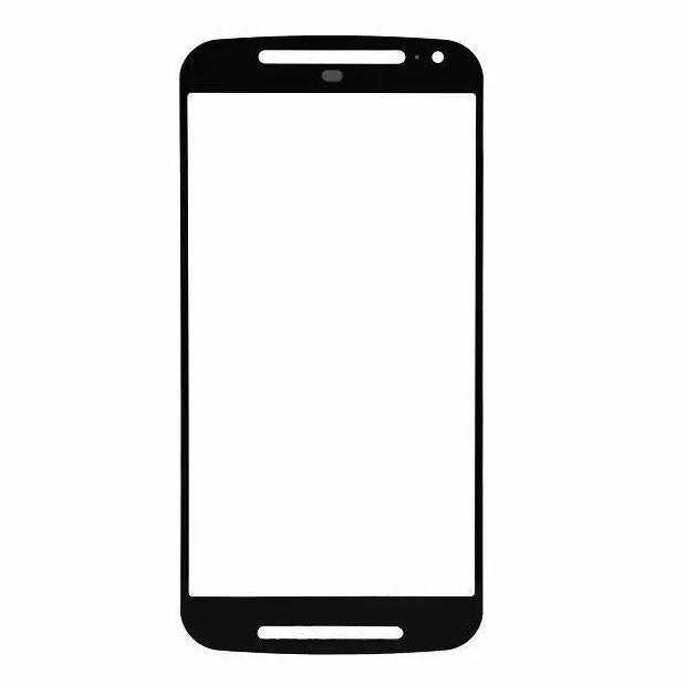 Lente Vidro sem Touch Moto G2 2 Geracao Xt1068 Xt1069 Pt