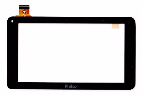 Tela Touch Com Aro Tablet Philco Tv 7etv-b111a4.2 Preto