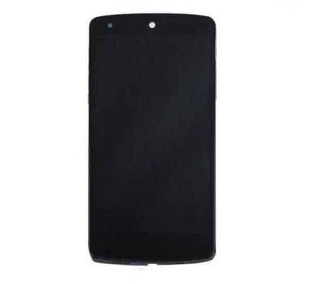 Frontal LG Nexus 5 D820 D821 Preto com Aro