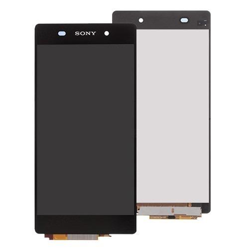 Frontal Sony Xperia Z3 D6653 D6633 Preto sem Aro