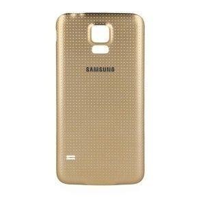 Tampa Bateria Traseira Samsung Galaxy S5 Sm-g900 Dourado