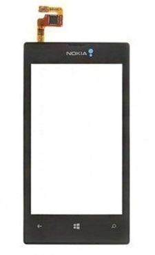 Tela Touch Nokia Lumia 520 Com Aro - 1ª Linha