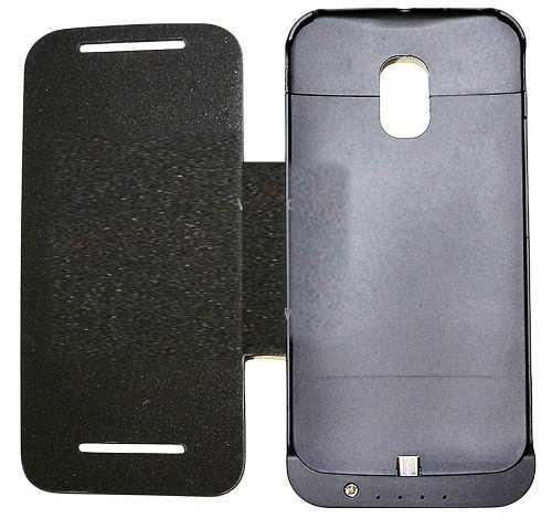 Capa Case Carregador Bateria Extra Motorola Moto G2 Xt1068 Xt1069