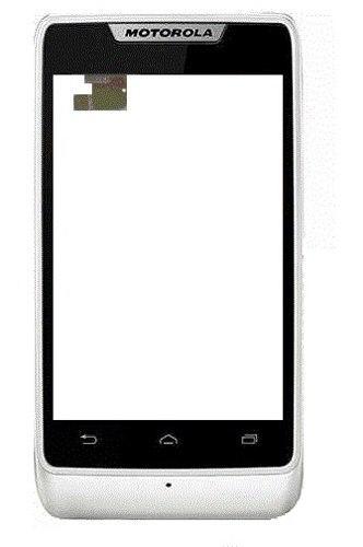 Touch Motorola Razr D1 Xt916 Com Aro Frontal Branco