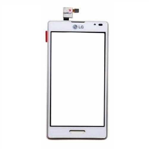 Tela Touch Com Aro LG L9 P768 Branco