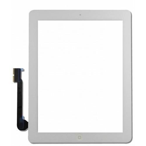 Touch Apple Ipad 3 e 4 Com Botao Home Branco
