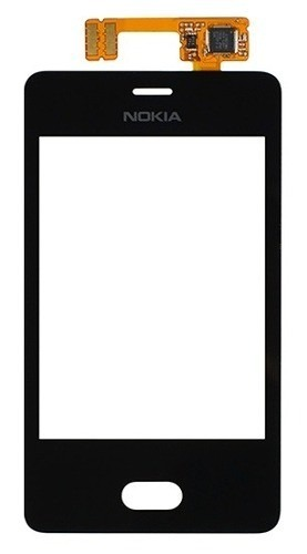 Tela Touch Nokia Asha N501 Preto - 1ª Linha