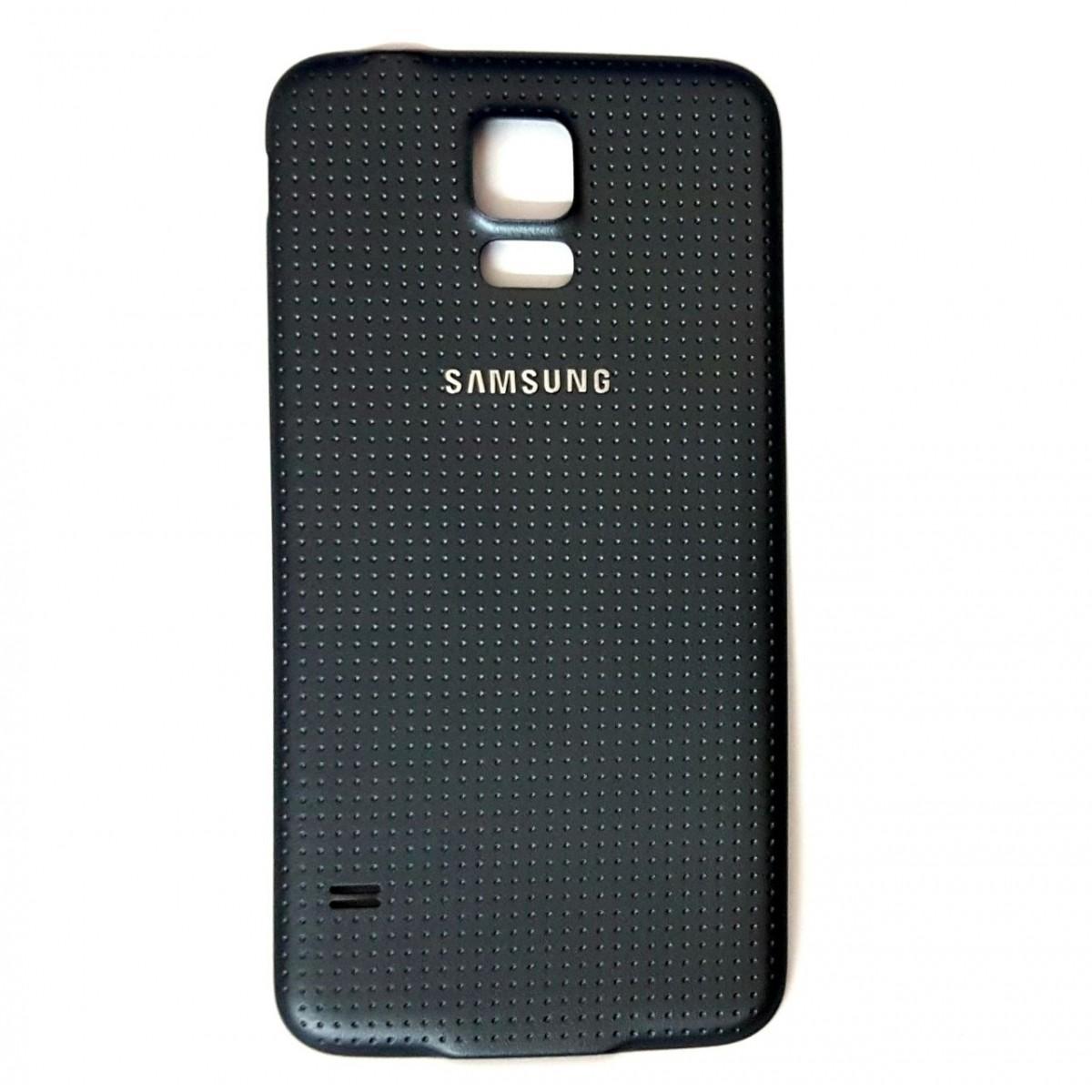 Tampa Bateria Traseira Samsung Galaxy S5 Sm-g900m Chumbo com Vedação