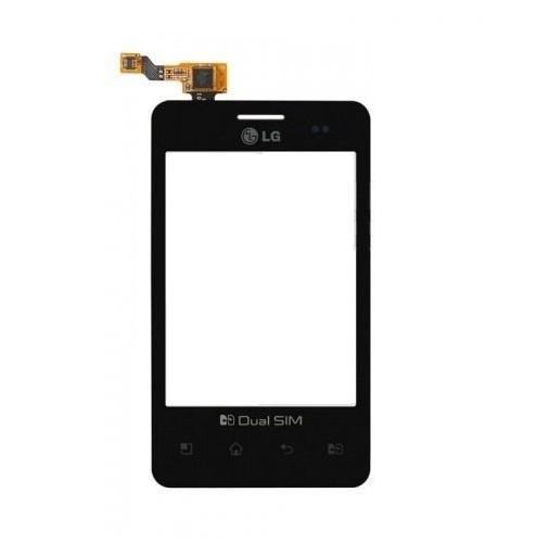 Tela Touch LG Optimus L3 Dual E405 Preto - 1ª Linha