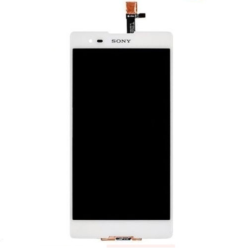 Frontal Touch e Lcd Sony Xperia T2 Ultra Dual D5322 Branco Sem Aro