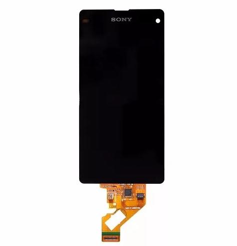 Frontal Sony Xperia Z1 Compact Mini D5503 sem Aro