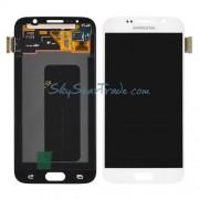 Display Lcd Com Tela Touch Samsung S6 Sm-g920 G920 F Branco