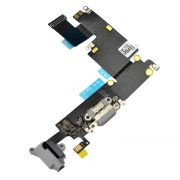 Flex Conector Carga iPhone 6 Plus 5.5 Preto
