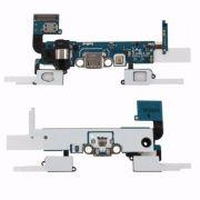 Flex Conector de Carga e Botoes Sensor Samsung A5 SM-A500