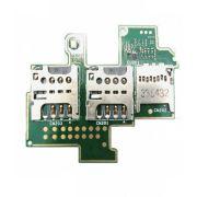 Cabo Flex Slot Sim Card Chip Sony Xperia M Dual C2004