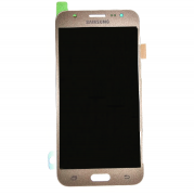 Display Lcd com Tela Touch Samsung Galaxy J5 J500 Dourado