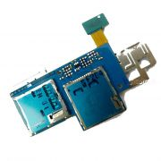 Flex Com Conector de Sim card Samsung Express Gt-I8730L