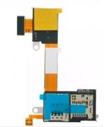 Flex Slot Sim Card Cartão Memória Xperia M2 / M2 Aqua D2303 D2305 D23061 Chip