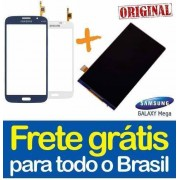 Display lcd com Tela Touch Galaxy Mega I9152 Preto Branco