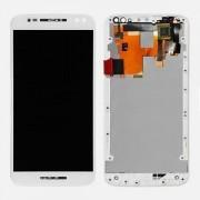Tela Touch Com Lcd Display Moto X Style Xt1572 Xt1570 1572 Branco Com Aro