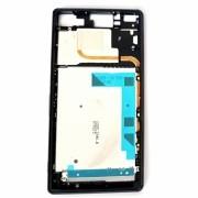 Aro Lateral Sony Xperia Z3 Dual D6633 com Tampas Usb Preto