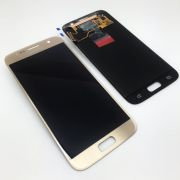 Touch Com Lcd Display Samsung S7 SM-G930 Dourado Gold Original