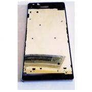 ARO LATERAL XPERIA Z3 1 CHIP COM TAMPAS USB BRANCO