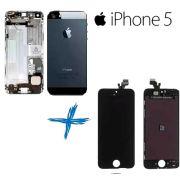 Lcd Iphone 5 + Carcaça Preto