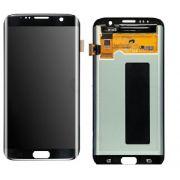 Frontal Touch e Lcd Samsung S7 Edge Sm-G935f G935a G935v Preto  Sem Aro