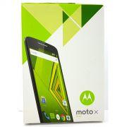 Caixa Embalagem Original Celular Motorola Moto X Play