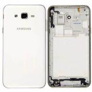 Carcaça Samsung J200 J2 Branco AAA (Aro + Tampa)